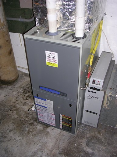 New 95% furnace
