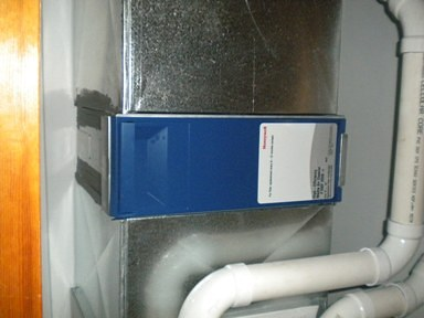 New Honeywell filter system
