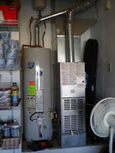 A Clean, Professional Storage-Tank Type Gas Water Heater install