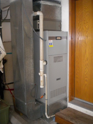 Older Heil 90% furnace