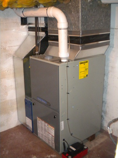 New American Standard 95% 2 stage variable furnace