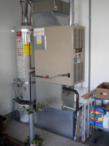 New American Standard Air Conditioner Coil Installed