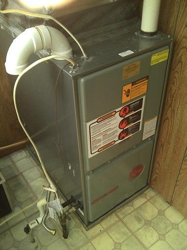 Older RHEEM furnace