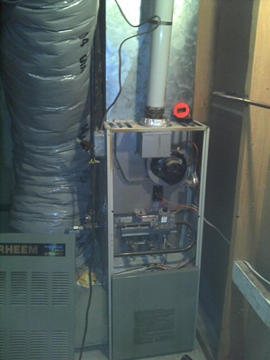 Older RHEEM with PLEXVENT