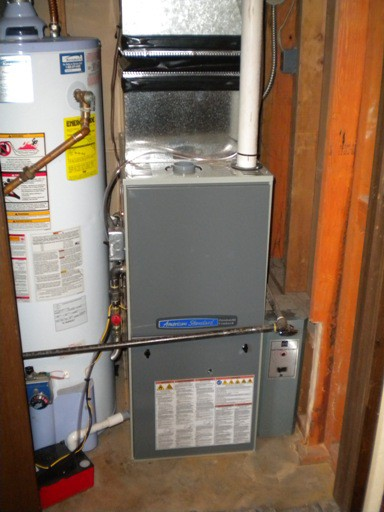 New American Standard 95% 2 stage variable gas furnace.