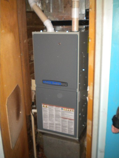 New American Standard 95% Single Stage Furnace