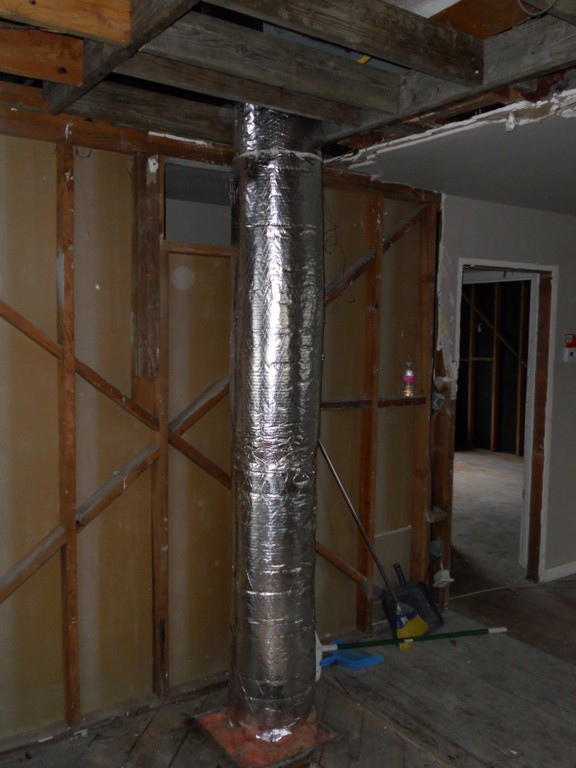 New Return Ducting