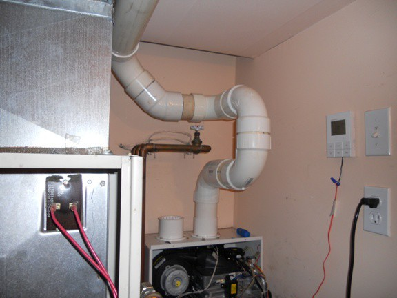 Navien 98% tankless heater