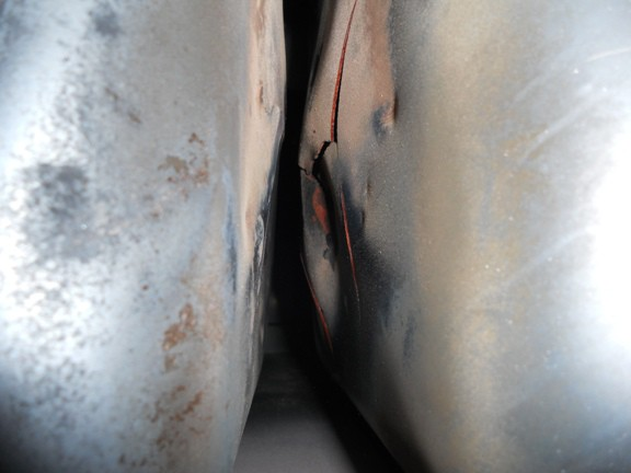 Older 80% Furnace Cracked Exchangers