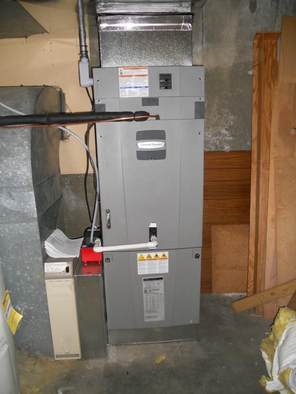 Oil To American Standard 16 Seer 2 Stage Heat Pump