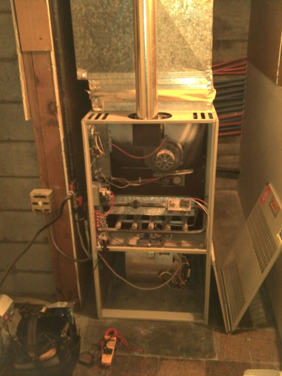 Older York 80% Furnace.