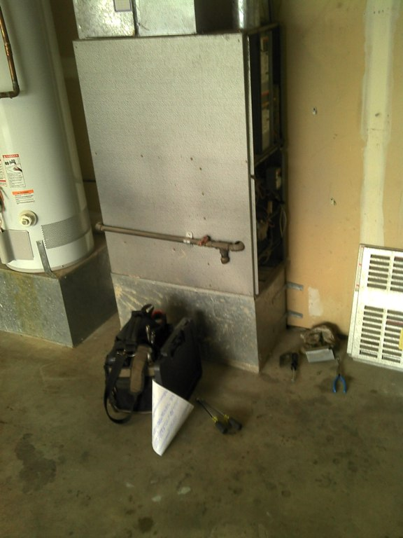 Carrier 80% gas furnace