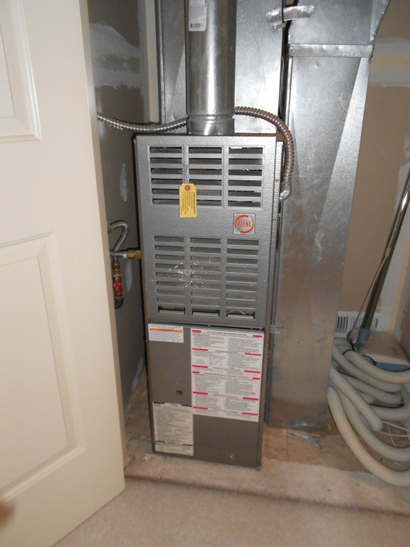 Existing Payne 80% Gas Furnace.