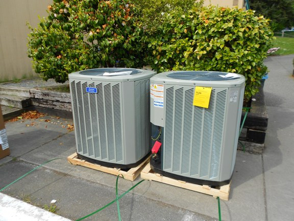 New American Standard dry R22 AC Units
