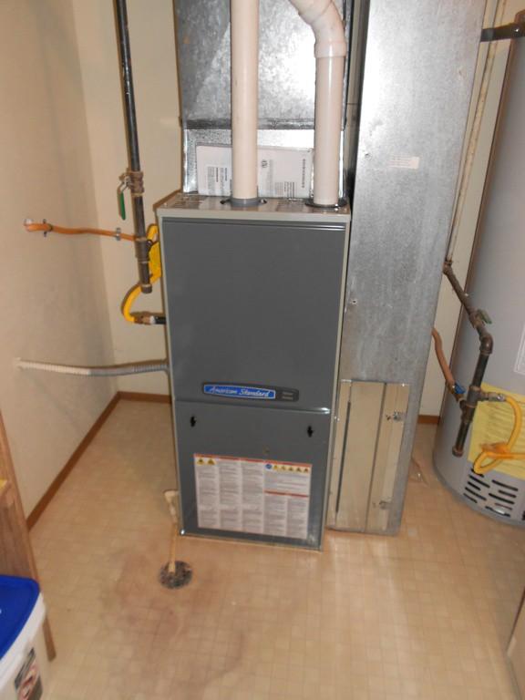 95% American Standard gas furnace