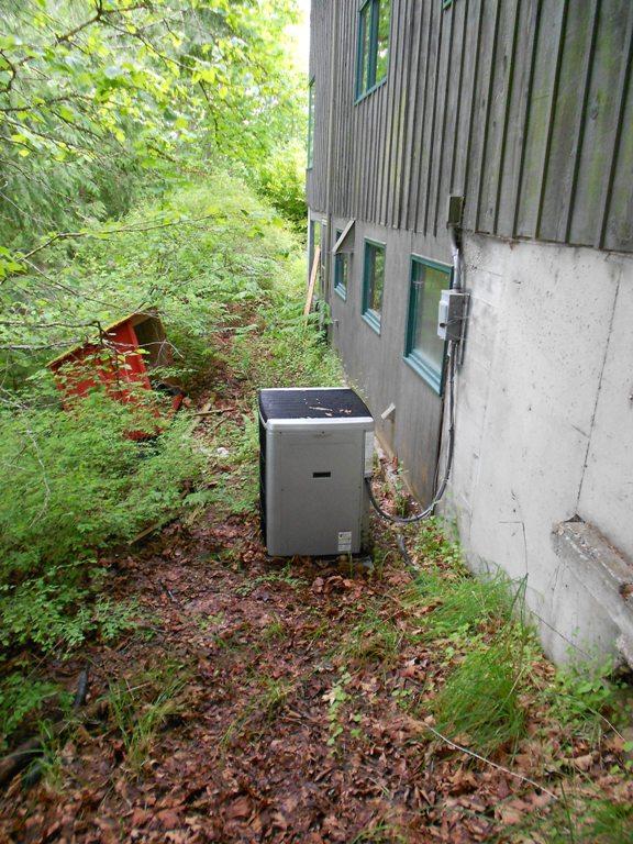 Existing coleman heat pump