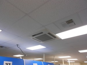 New Commercial Daikin Ductless Indoor Unit