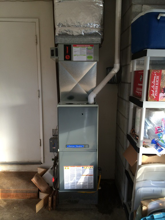 Single Stage American Standard 95% gas furnace