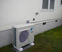 ductless mini split condenser unit