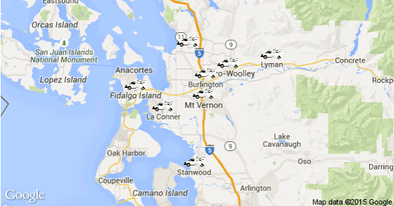 Skagit County Heating Service Area