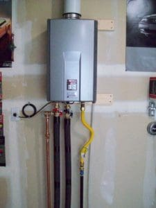 How Does A Tankless Water Heater Work Alpine Heating