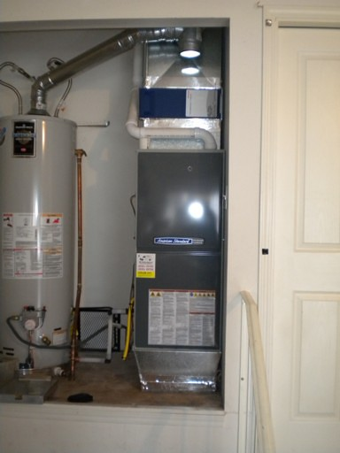 Rheem 80 To American Standard 95 Variable 2 Stage
