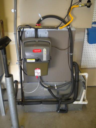 honeywell truesteam remote mounted