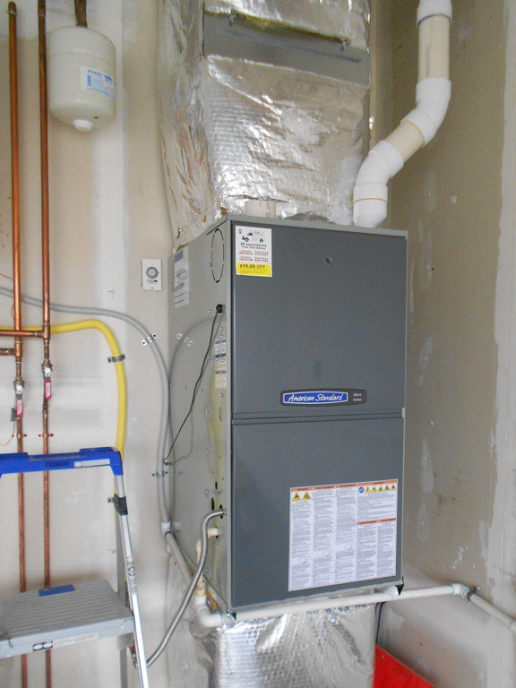 Furnace Upgrade Heil 90 To American Standard 95